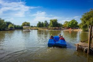 Parc de loisirs pédal'eau près d'angers, maine et Loire
